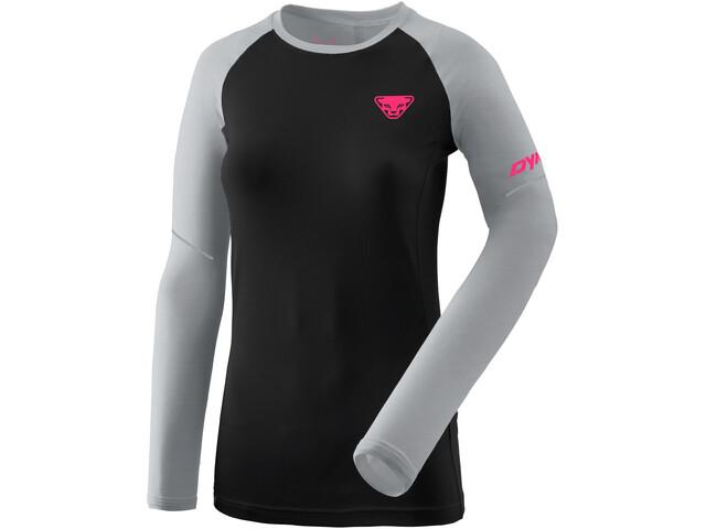 Dynafit Alpine Pro Longsleeve Dames, zwart/grijs